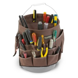 35 Pocket Bucket Tool Carrier