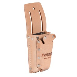 Double Pocket Fiber Lined Knife Sheath