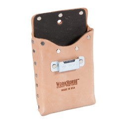 Single Pocket Tool Pouch with Fiber Lining + Tape Clip