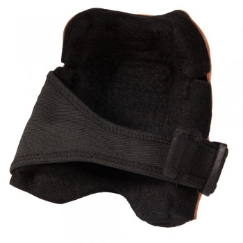 "Leather Knee Pads with 1"" Felt Liner"